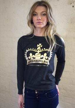 "Slogan Sweatshirt ""Dreaming Big"""