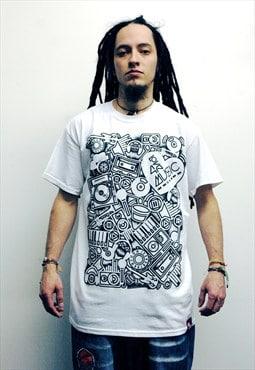 Love 4 Music white t-shirt