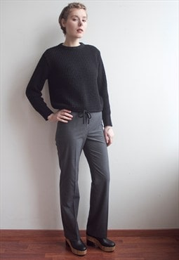 Vintage Classic Flare Trousers