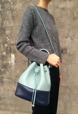 Back in Stock- Sasha Bi-Colour Bucket Bag