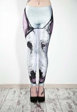 Trash Bull Terrier Leggings
