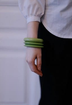 Light Green Vintage 4 in 1 Bracelet