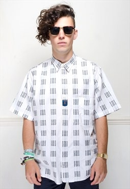 Retro 90's monochrome shirt