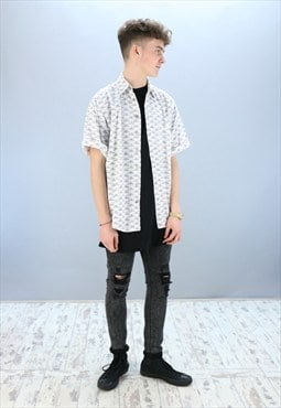 Vintage Patterned Shirt Z-901