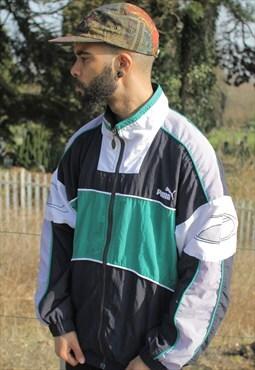 Vintage Puma Shell Jacket