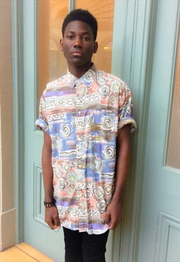 90s abstract shirt