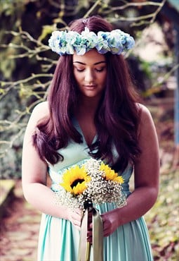 Tara Ombre Hydrangea Flower Crown