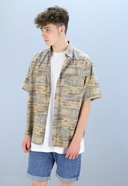 Vintage Patterned Shirt Z-999