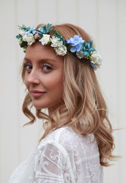 Large Floral handmade headpiece