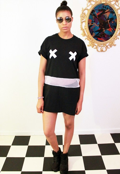 X Rated T-shirt Dress