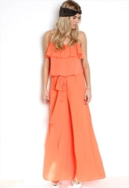 Ford Jumpsuit Orange