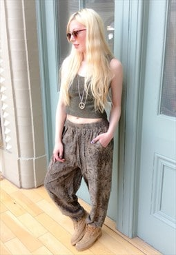 90's Floral pattered Trousers