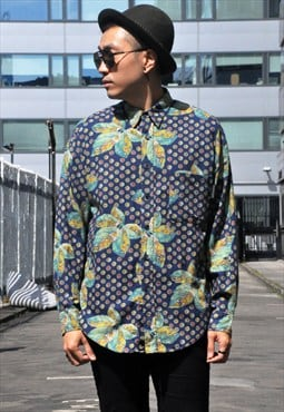 Vintage Japanese 'Kenzo' Patterned Shirt