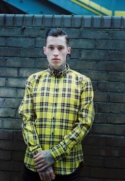 Thomas Codd London tailored tartan long sleeve shirt