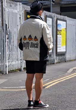 Vintage Oversized 'Daffy Duck' Windbreaker