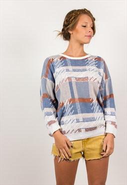 Vintage 80s vintage spring jumper//style:00728
