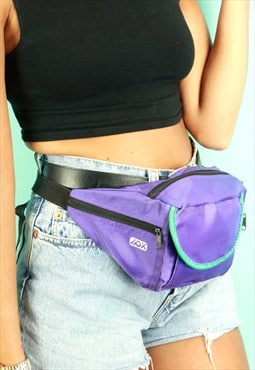 Purple &Turquoise Bum Bag
