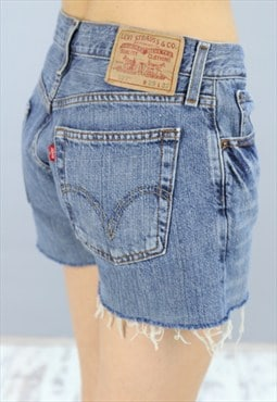 Womens Vintage Levis Denim Shorts AN18