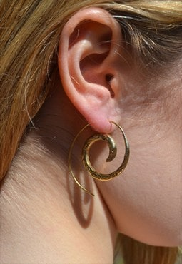Shiny Swivel Earrings