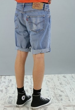 Men's Vintage Levis Denim 501 Shorts DF2