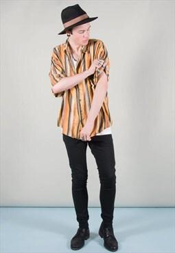 Vintage Lightweight Striped 90s Shirt _