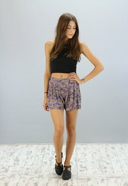 Vintage High Waisted Reworked Sprinter Shorts Z-1151