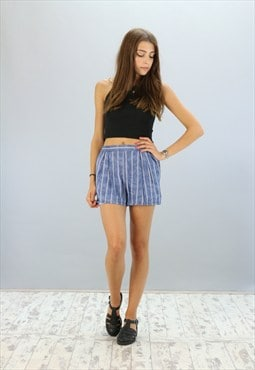 Vintage High Waisted Reworked Sprinter Shorts Z-1157