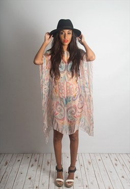 Juicy Beach Party Sheer Kaftan