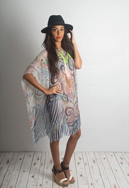 Juicy Sheer Beach Party Kaftan