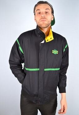 Adidas Mens Vintage Tracksuit Top Jacket Medium 90's