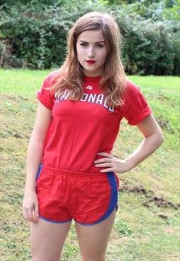Vintage 80s Sprinter Shorts - Size 8 - Hi Cut