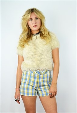 Vintage 90's Tartan/ Check Shorts