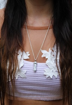 Marble Print Necklace