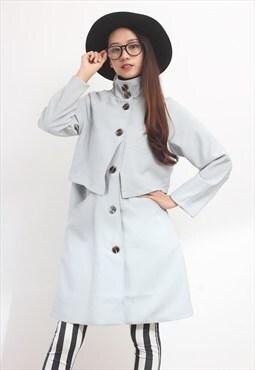 Stand Collar Autumn Coat