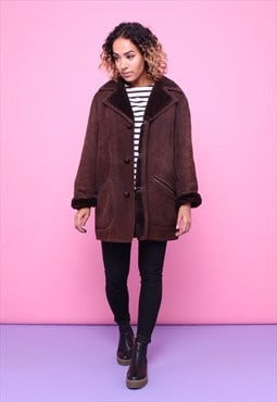 Vintage 70s Sheepskin Shearling Coat 2315531