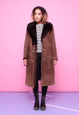 Vintage 70s Sheepskin Shearling Coat 2315594