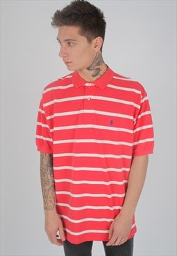 Vintage Polo Ralph Lauren Candy Stripe Polo Shirt