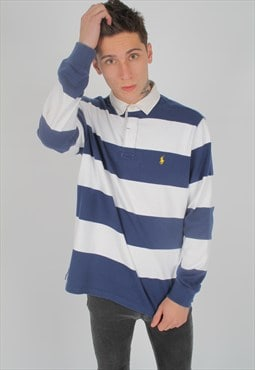 Vintage Ralph Lauren Long-Sleeved Polo Top