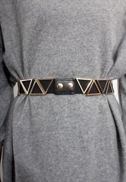 Gold Triangle Elastic Belt