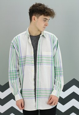 Vintage Checked Ralph Lauren Shirt Z-457