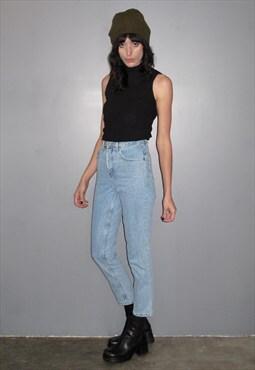 High Waist Classic 90s Jeans