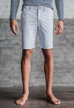 15014003 Crispy Pima Cotton Stretch Regular Fit Chino Short