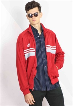 Vintage Adidas Track Jacket Logo 90s L 1-2.5