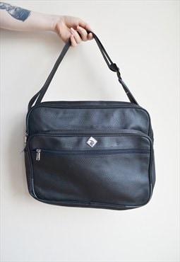 Vintage Travel Satchel Bag