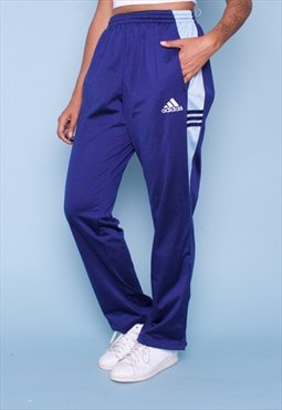 ADIDAS 90s Vintage Sports Tracksuit Bottoms 250705