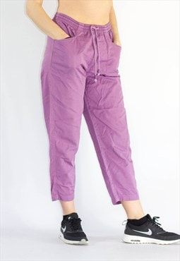 Vintage  High Waist Ankle Grazer Trousers