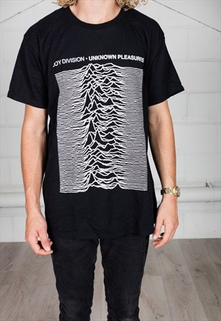 JOY DIVISION UNKNOWN PLEASURES UNISEX T-SHIRT