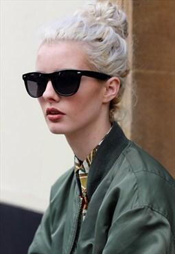 Black Wayfarer Stye Sunglasses
