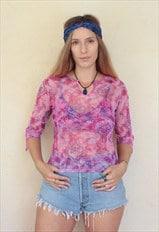 Vintage 90's Paisley Hippie Top