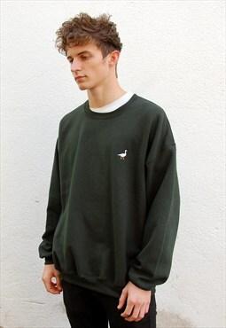 G&G Unisex Forest Green Goose Sweatshirt